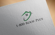 1-800-Roof-Plus Logo - Entry #94