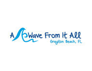 A Wave From It All Logo - Entry #7