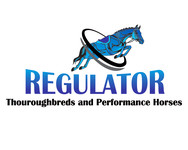 Regulator Thouroughbreds and Performance Horses  Logo - Entry #48
