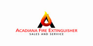 Acadiana Fire Extinguisher Sales and Service Logo - Entry #142