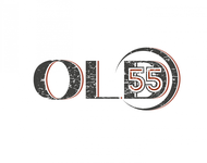 """""""OLD 55"""" - mid-century vintage furniture and wares store Logo - Entry #107"""