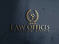 Law Offices of David R. Monarch Logo - Entry #233