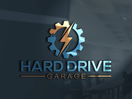Hard drive garage Logo - Entry #142