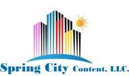 Spring City Content, LLC. Logo - Entry #66