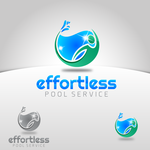 Effortless Pool Service Logo - Entry #47