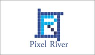 Pixel River Logo - Online Marketing Agency - Entry #24