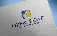 "Open Road Wealth Services, LLC  (The ""LLC"" can be dropped for design purposes.) Logo - Entry #6"