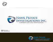 Hawk Private Investigations, Inc. Logo - Entry #46