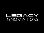 LEGACY RENOVATIONS Logo - Entry #49
