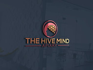 The Hive Mind Apiary Logo - Entry #48