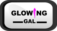 Glowing Gal Logo - Entry #4
