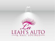 Leah's auto & nail lounge Logo - Entry #165