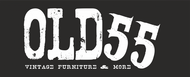 """""""OLD 55"""" - mid-century vintage furniture and wares store Logo - Entry #209"""