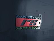 Rams Duty Free + Smoke & Booze Logo - Entry #217