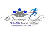 The Forever Family 5K Logo - Entry #27