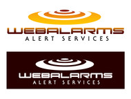 Logo for WebAlarms - Alert services on the web - Entry #204