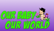 Logo for our Baby product store - Our Baby Our World - Entry #84
