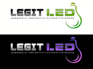 Legit LED or Legit Lighting Logo - Entry #188