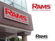 Rams Duty Free + Smoke & Booze Logo - Entry #296