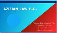 Azizian Law, P.C. Logo - Entry #20