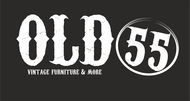 """""""OLD 55"""" - mid-century vintage furniture and wares store Logo - Entry #211"""