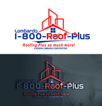 1-800-Roof-Plus Logo - Entry #61