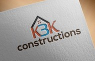 KBK constructions Logo - Entry #36
