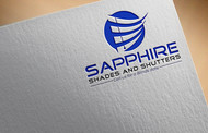 Sapphire Shades and Shutters Logo - Entry #147