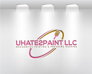 uHate2Paint LLC Logo - Entry #188