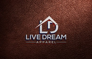 LiveDream Apparel Logo - Entry #37