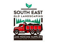South East Qld Landscaping and Fencing Supplies Logo - Entry #72