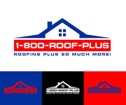 1-800-Roof-Plus Logo - Entry #87
