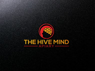 The Hive Mind Apiary Logo - Entry #49