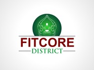 FitCore District Logo - Entry #12