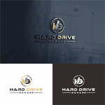 Hard drive garage Logo - Entry #172