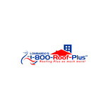1-800-Roof-Plus Logo - Entry #13