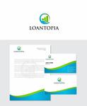 Loantopia Logo - Entry #22