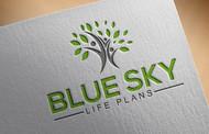 Blue Sky Life Plans Logo - Entry #77