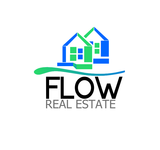 Flow Real Estate Logo - Entry #110