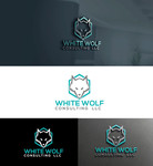 White Wolf Consulting (optional LLC) Logo - Entry #191