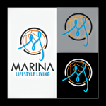 Marina lifestyle living Logo - Entry #147