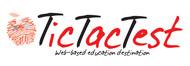 TicTacTest Logo - Entry #6
