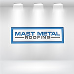 Mast Metal Roofing Logo - Entry #74