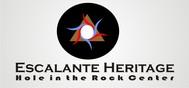 Escalante Heritage/ Hole in the Rock Center Logo - Entry #18