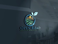 "Open Road Wealth Services, LLC  (The ""LLC"" can be dropped for design purposes.) Logo - Entry #52"