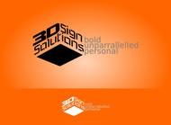 3D Sign Solutions Logo - Entry #165