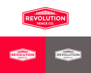 Revolution Fence Co. Logo - Entry #318