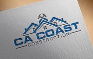 CA Coast Construction Logo - Entry #73