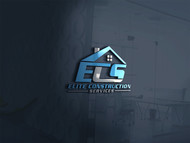 Elite Construction Services or ECS Logo - Entry #288
