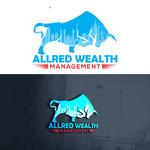 ALLRED WEALTH MANAGEMENT Logo - Entry #636